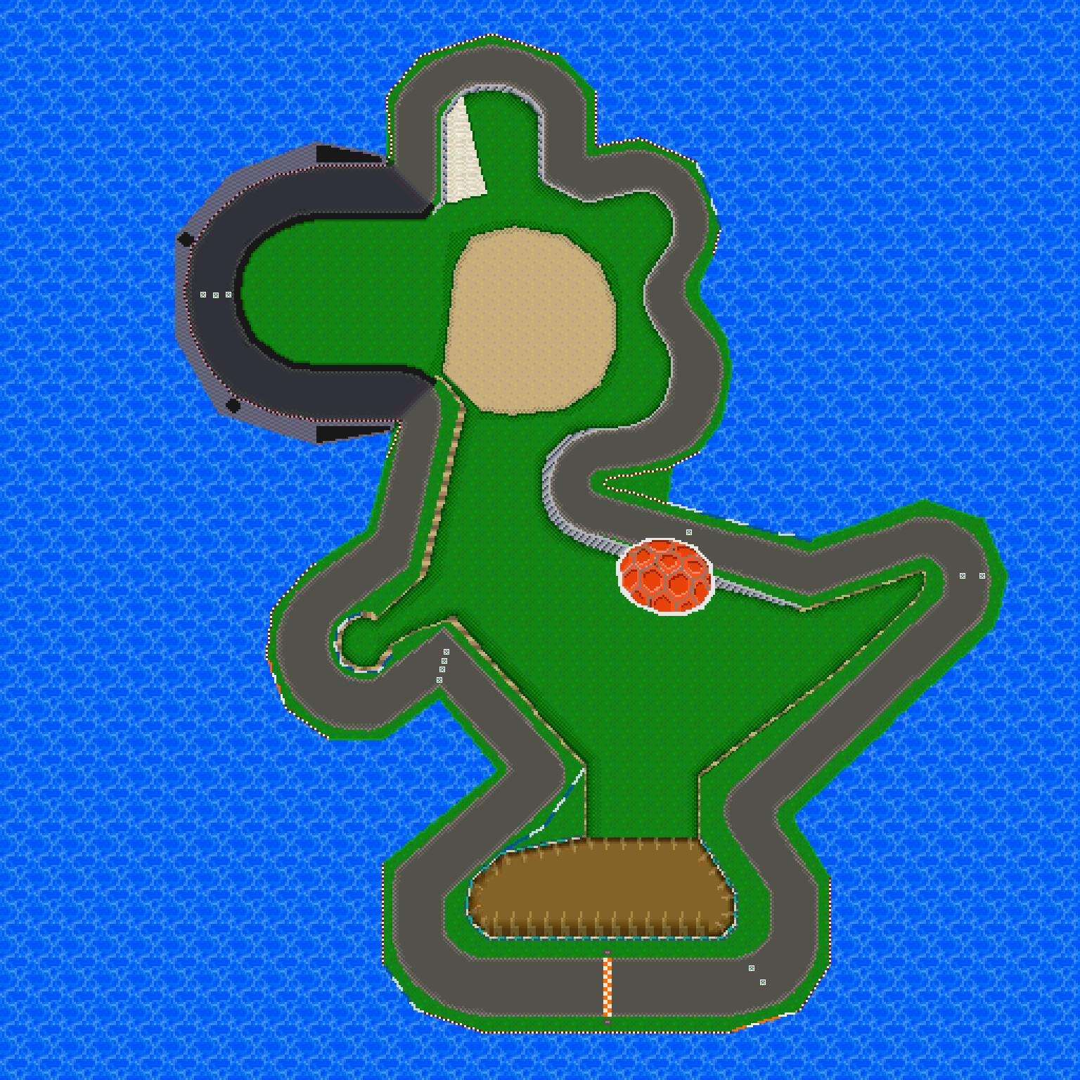 yoshi circuit  mario kart pc